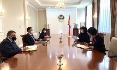 """Худалдааны хөнгөлөлтийн """"GSP+"""" системийг ашиглан Европын зах зээлд Монголын экспортыг нэмэгдүүлэхэд хамтарч ажиллана"""
