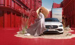 Монгол Модель Ж.Энэрэл Mercedes-Benz C-Class-ийн нүүр царай боллоо