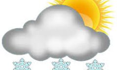 Өнөөдөр уулархаг нутгаар ялимгүй цас орж, нутгийн зүүн хагаст хүйтэн салхитай байна