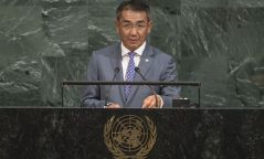 Гадаад хэргийн сайд Ц.Мөнх-Оргил Монгол улсыг төлөөлж НҮБ-ын чуулганд үг хэллээ