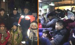 Тойм: Сар шинийн баяраар нийтийн тээвэр ҮНЭГҮЙ үйлчлэхээр болж, зарим сургуулийн хүүхдүүд автобусаар гэртээ хүргүүлдэг болсон өдөр