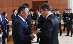 Ерөнхийлөгч дипломат корпусын тэргүүн, гишүүд, Элчин сайд нартай уулзав