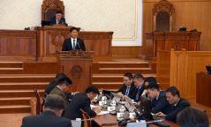 Монгол Улсын 2020 оны төсвийн тухай хуулийн төслийг хэлэлцэж эхэллээ