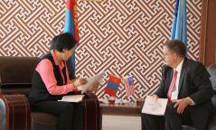 Монголд мэс заслын төв байгуулах талаар санал солилцлоо