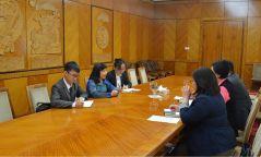 БСШУС-ын сайд Ц.Цогзолмаа БНСВУ-ын Элчин сайдыг хүлээн авч уулзлаа