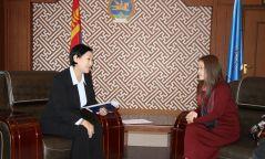 БСШУС-ын сайд НҮБ-ын Хүн амын сангийн төлөөлөгчтэй уулзлаа