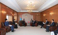 БНХАУ-ын Коммунист намын төлөөлөгчдийг хүлээн авч уулзав