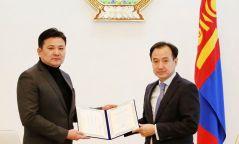Төрийн соёрхолт, УДЭТ-ын ерөнхий найруулагч НАМНАНГИЙН НАРАНБААТАР Монгол Улсын соёлын элчээр томилогдлоо