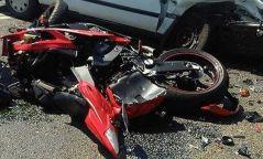 Орон нутгийн замд мотоцикль онхолдож жолооч нь нас баржээ
