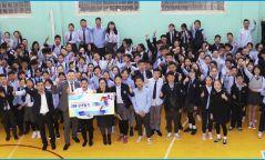 """ХХБанк """"УЛААНБААТАР МАРАФОН 2019"""" арга хэмжээнд 1000 сурагчдыг оролцуулах эрхийн бичиг гардууллаа"""