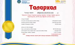 """""""Эрдэнэс Монгол"""" ХХК 2018 онд 10.4 тэрбум төгрөгийн татвар төвлөрүүлжээ"""