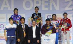 """""""Байгаль Опен"""" олон улсын тэмцээнээс хоёр медаль хүртлээ"""