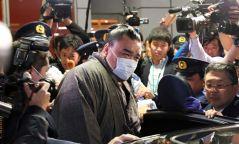 Японы сүмогийн холбооны албаны хүмүүс Харүмафүжийг байцааж эхэлжээ