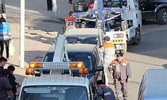 Цагдаагийн зөвшөөрөлгүй машин ачсан ачилтын компанид мэдэгдэл хүргүүлжээ