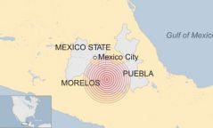 Мексикийн төв хэсэгт хүчтэй газар хөдлөлт болж, 130 гаруй хүн амь үрэгджээ