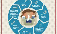 Инфографик: Ханиад томуугаас хэрхэн урьдчилан сэргийлэх вэ