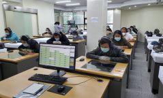 БНСУ-д ажиллах хүсэлтэй иргэдийн солонгос хэлний түвшин тогтоох шалгалт эхэллээ