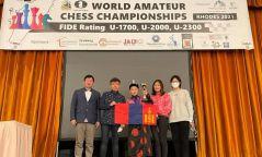 12 настай монгол хүү шатар сонирхогчдын дэлхийн дэд аварга боллоо