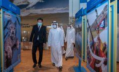 Эмират улсын угсаа залгамжлах ханхүү Монголын павильонд зочлов