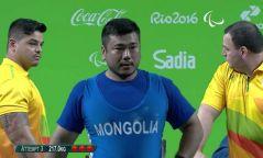 Э.Содномпилжээ паралимпийн алтан медаль хүртлээ