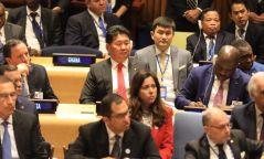 """Ерөнхий сайд У.Хүрэлсүх """"Хар тамхины асуудалтай тэмцэх дэлхийн уриалга""""-д Монгол Улс нэгдэж байгааг илэрхийллээ"""