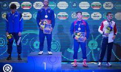 Б.БАТ-ЭРДЭНЭ эрчүүдээс цорын ганц медалийг авчирлаа