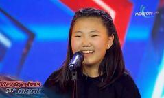 """Дуучин Г.Эрдэнэтунгалагийн охин """"Авьяаслаг Монголчууд"""" шоунд оролцлоо"""