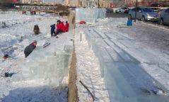 Мөсөн хотхон байгуулах ажил явагдаж байна