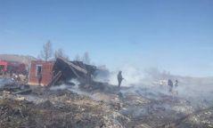 ФОТО:  Хатгал тосгоны ЗДТГ-ын байранд гарсан галыг бүрэн унтраажээ