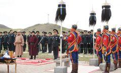 Бүх цэргийн Их хар сүлдийг цэнгүүлэн тайх ёслол үйлдэв