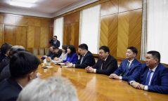 Монгол-Буриадын парламентын бүлгийн гишүүд Буриадын парламентын төлөөлөгчидтэй уулзлаа