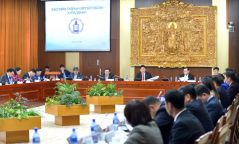 ШУУД: У.Хүрэлсүх Монгол Улсын Ерөнхий сайдын албан тушаалаас огцорч байгаагаа мэдэгдлээ