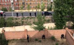ФОТО: Д.Доржзодовыг баривчлахаар гэрийг нь бүсэлж хаажээ