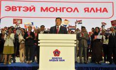 """М.Энхболд: Иргэд сонгогчид маань """"Эвтэй Монгол-Ээлтэй төр""""-өө сонгохыг хүсэж байгааг бид мэдэрлээ"""