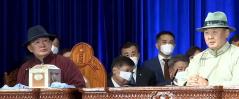 Монгол Улсын Ерөнхийлөгч У.Хүрэлсүх тангараг өргөлөө