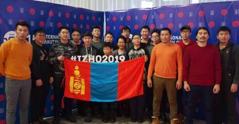 Жаутыковын нэрэмжит олон улсын олимпиадад монголын баг амжилттай оролцож байна