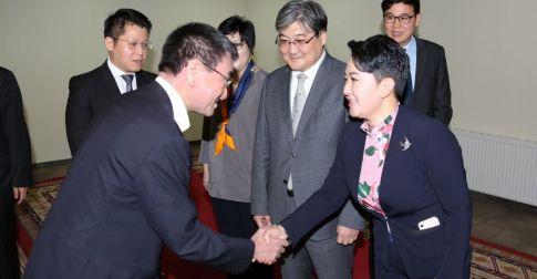 Япон Улсын Гадаад хэргийн сайд Т.Коно-гийн Монгол Улсад албан ёсны айлчлал өндөрлөлөө
