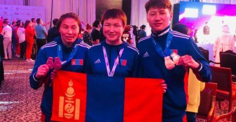 Боксын Ази тивийн аварга шалгаруулах тэмцээнээс хоёр хүрэл медаль хүртэв