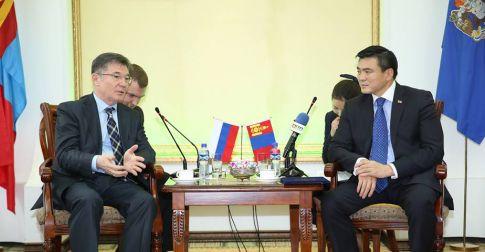 Элчин сайд Азизов Искандер Кубаровичийг хүлээн авч уулзлаа