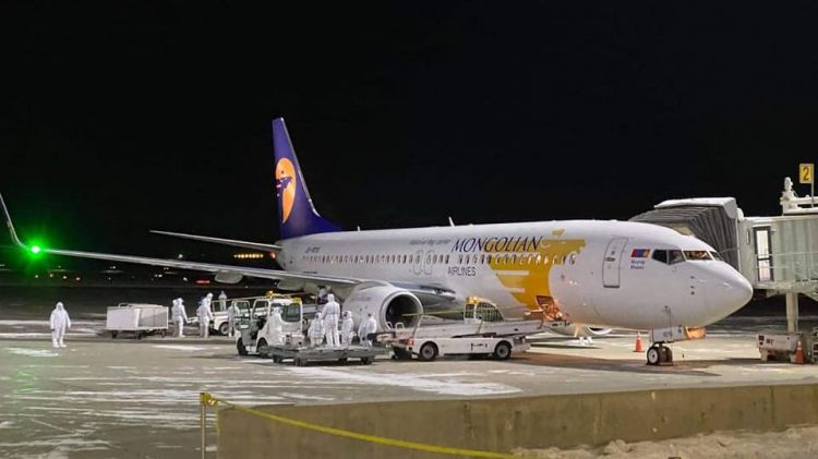 Сөүл-Улаанбаатар чиглэлийн нислэгээр 142 иргэн ирнэ
