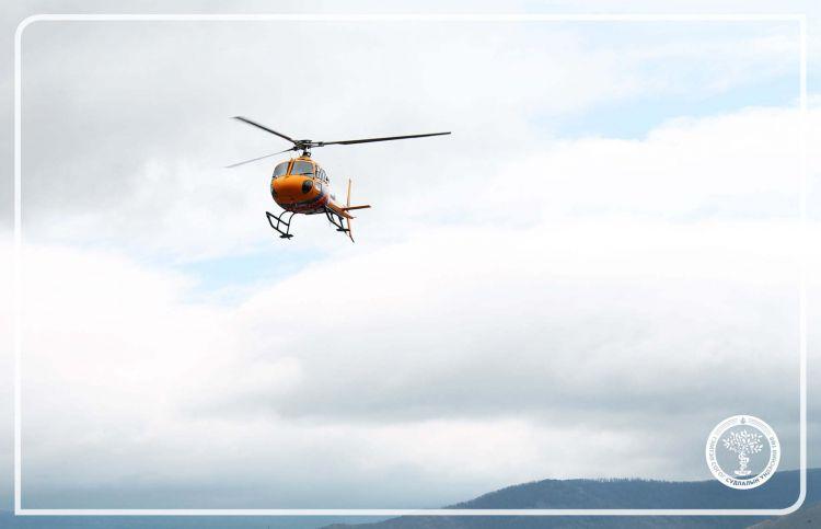 ГССҮТ нисдэг тэргээр эмнэлгийн яаралтай тусламж үзүүллээ